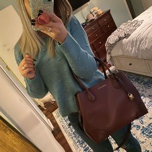 Michael Kors satchel crossbody bag